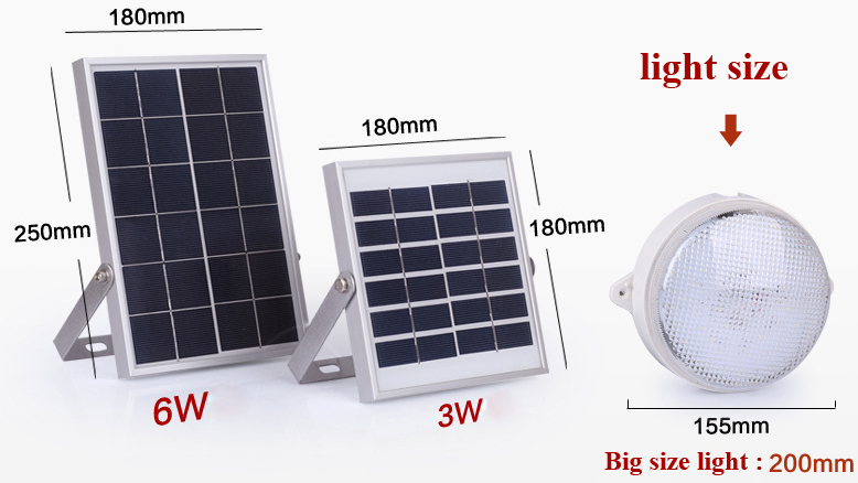 Hight Bright Solar Lantern Solar Power Lamp for Home Solar Light