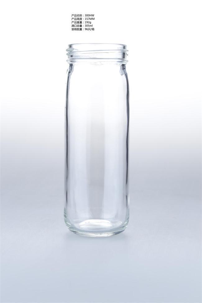 milk glass bottle/borosilicate glass feeding bottle