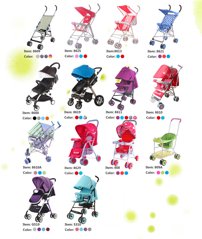 Baby stroller catalogue