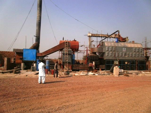 Boiler Installed In Pakistan