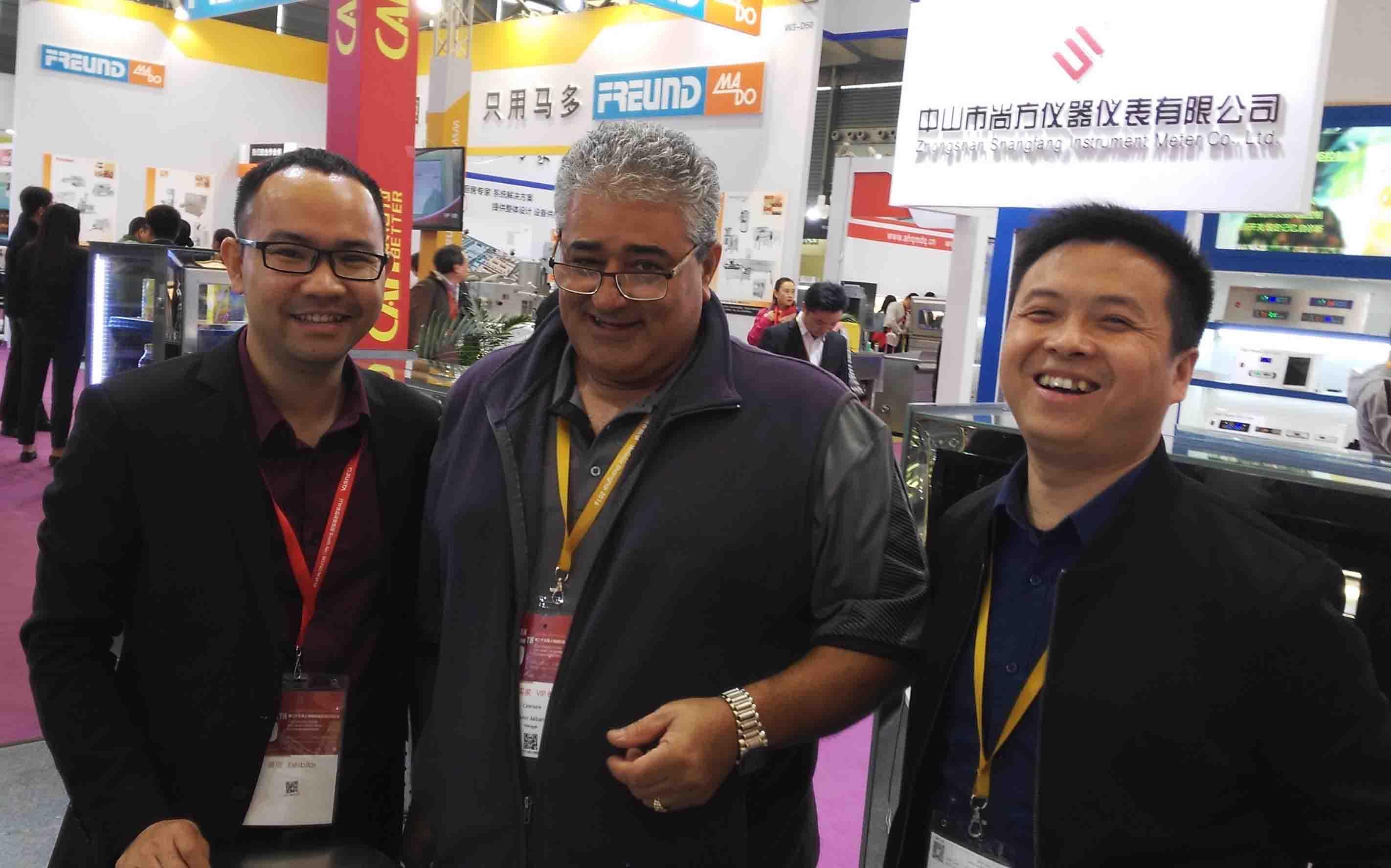 Australia Customer Meet in Shanghai Hotlex Exhibition