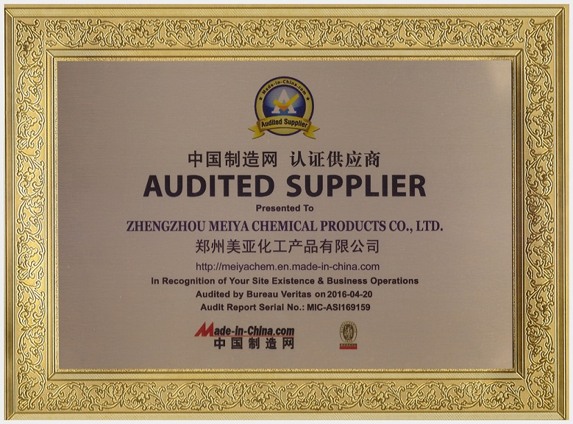 BV audited supplier