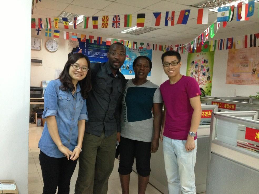 Tanzanian guests visiting Yuesen Med