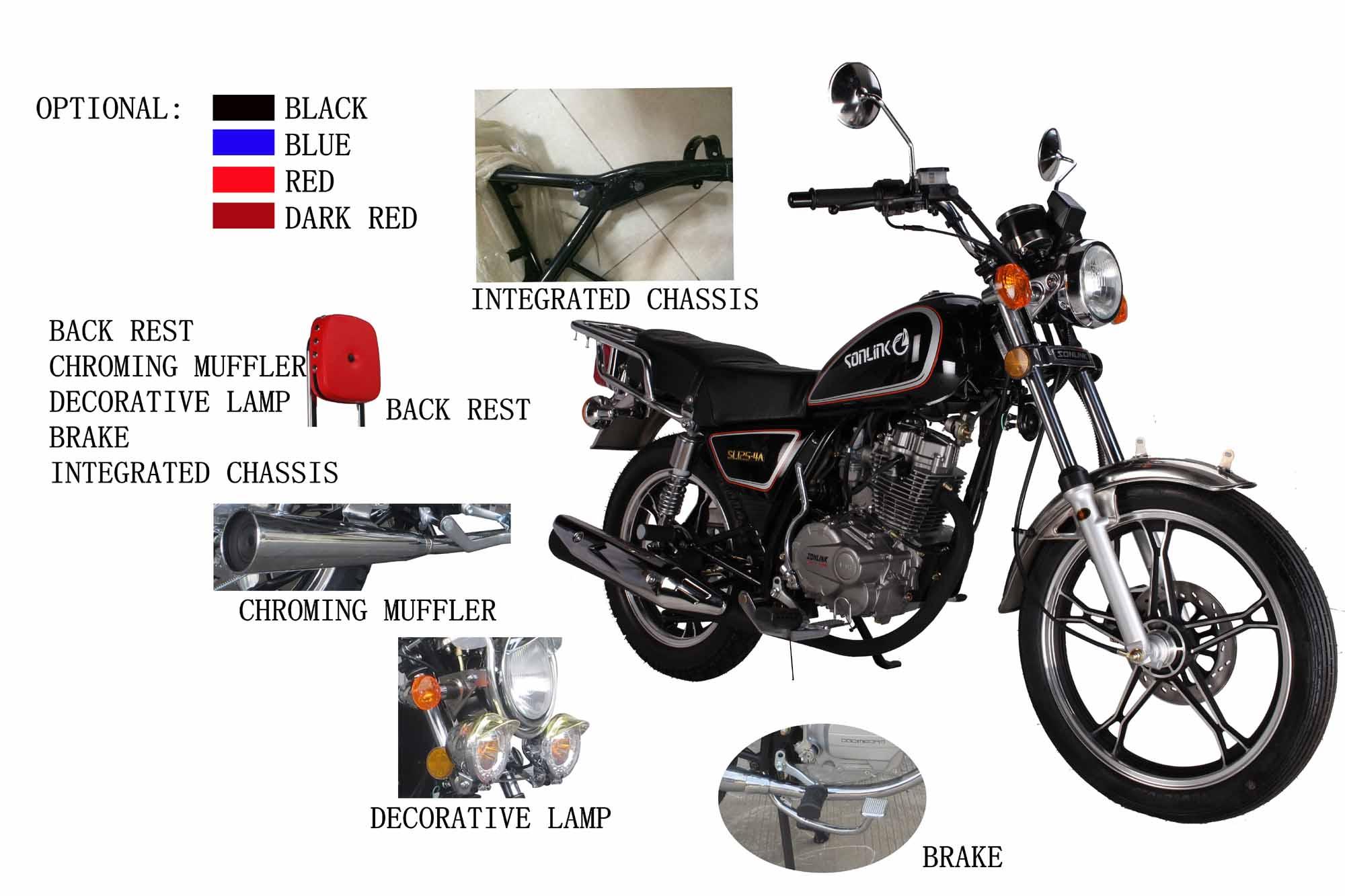 SL150-M1 Motorcycle Optional