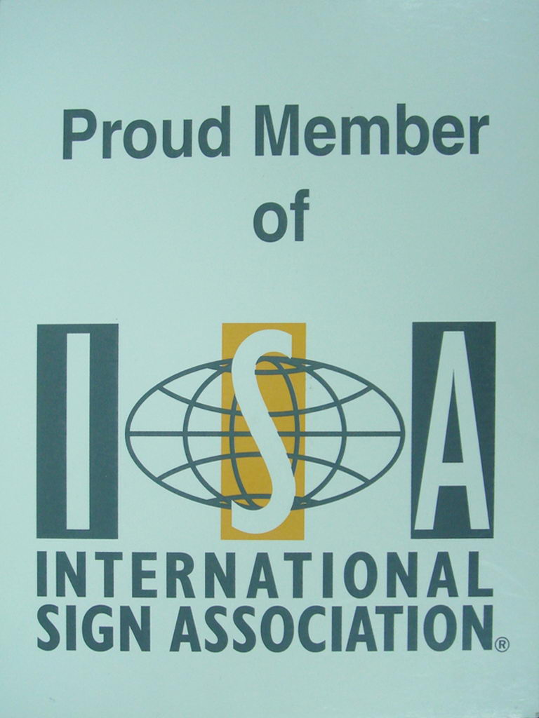 Proud Member Of ISA