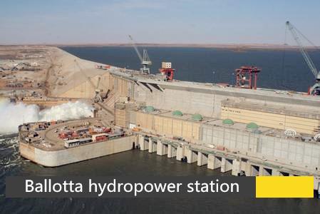 Ballotta hydropower station , Pakistan