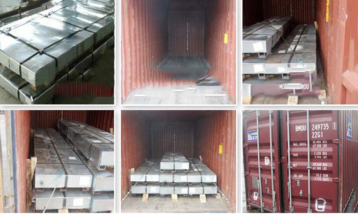Steel Sheet Loading