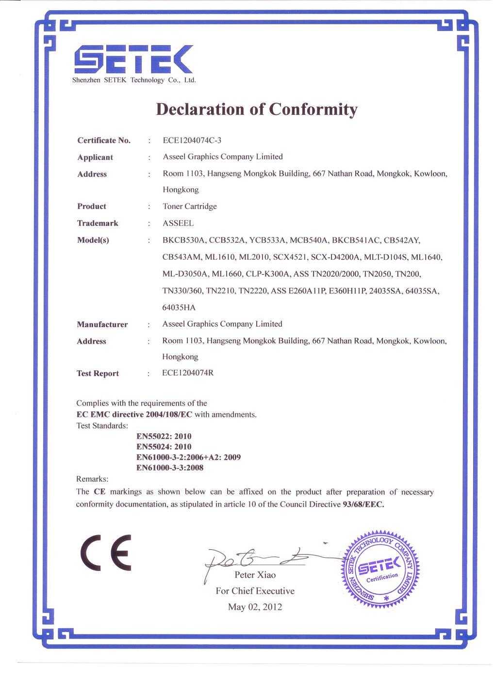 CE Certificated