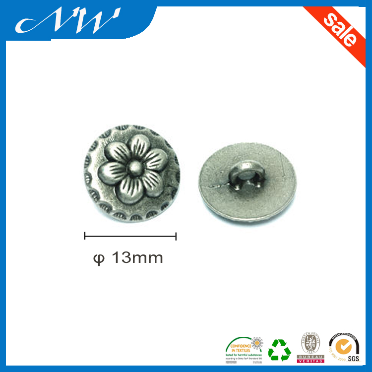 Metal Alloy Sewing Shank Button