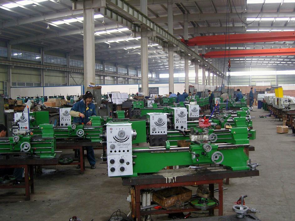 Production Line of Lathe Machine
