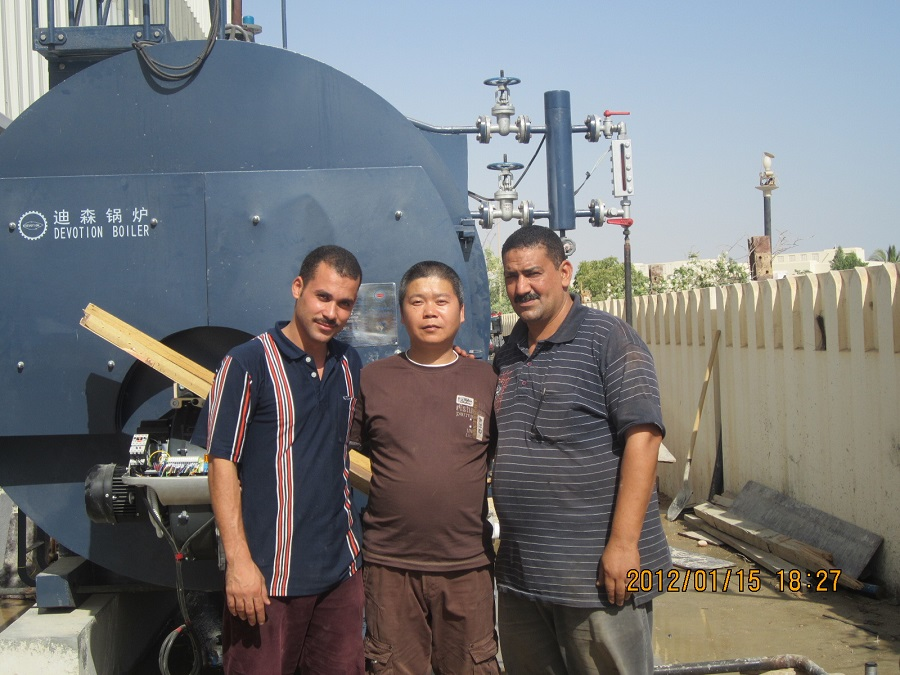 overseas service in Egypt for 1*4ton