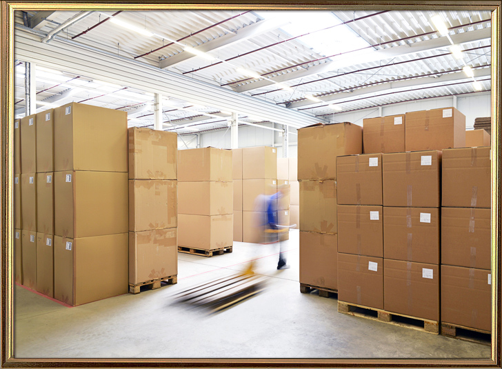LED Timer packing and warehouse