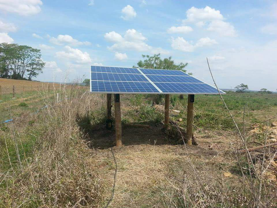 solar water pump in Africa