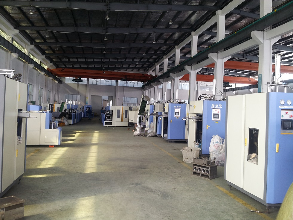 Blow moulding machine factory