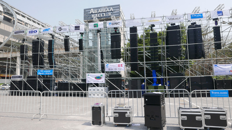 J.Sound Audio parts&accessories supports Prolight+sound Guangzhou and GET Show