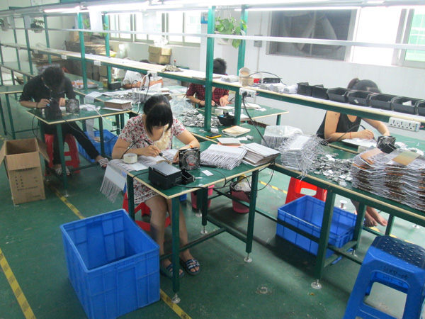 Corner of our Production Lines