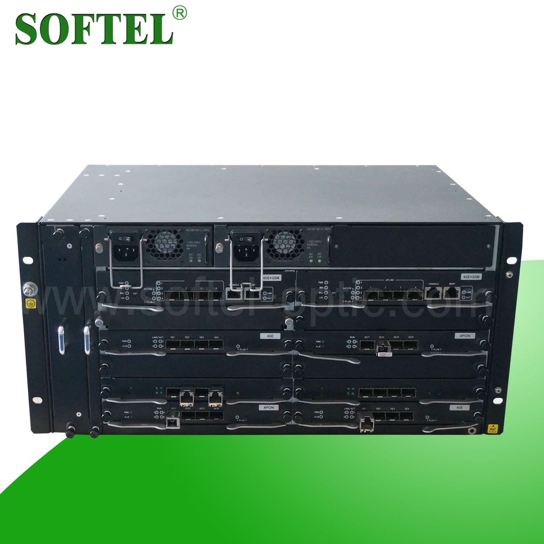 5 U 19 Optional PON Ports, Max 40 PON Ports U1.25 Gbps Optical GEPON OLT, FTTH GEPON OLT