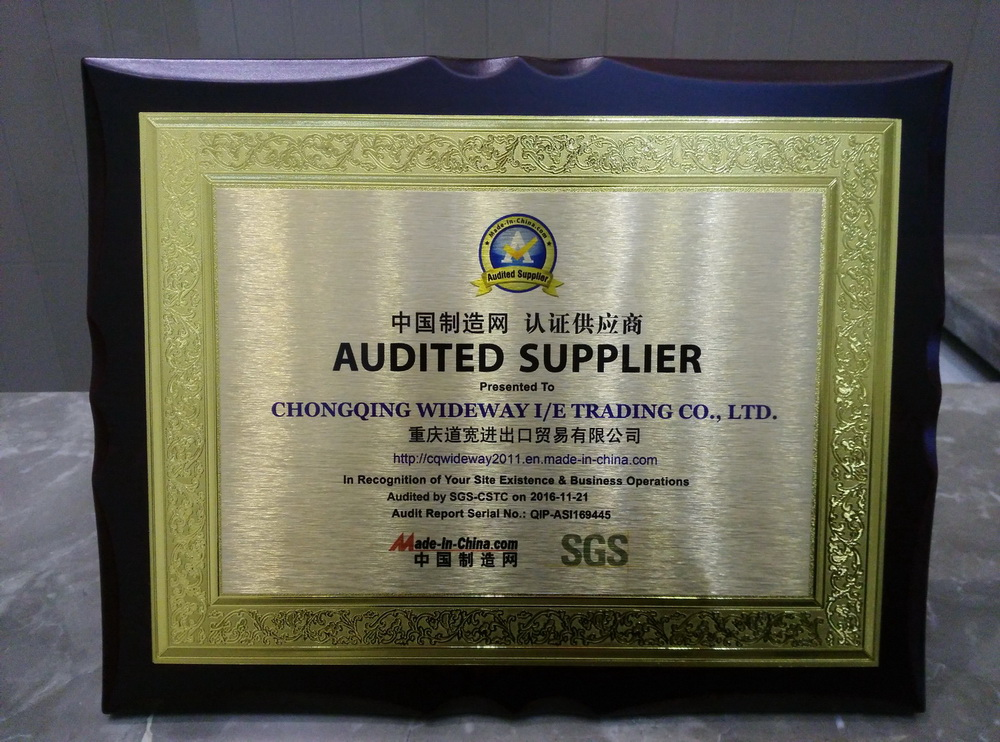 Chongqing Wideway accomplished the on site audit by SGS