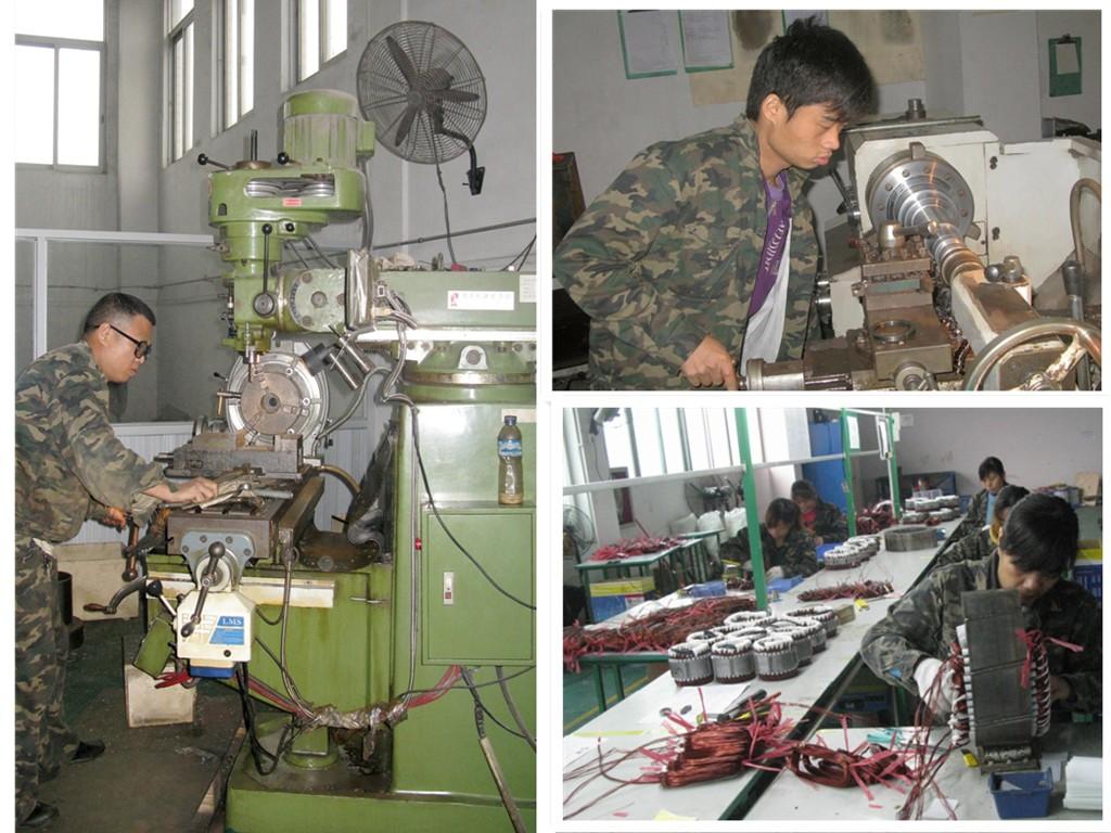 OUYAD wind generator workshop