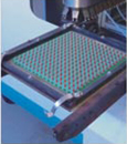 Wave soldering of outdoor DIP led screen