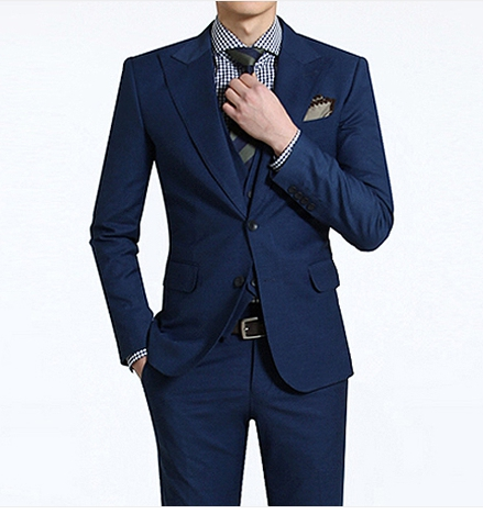 New style 2- button wool men′s suit - Shanghai Conqueror ...
