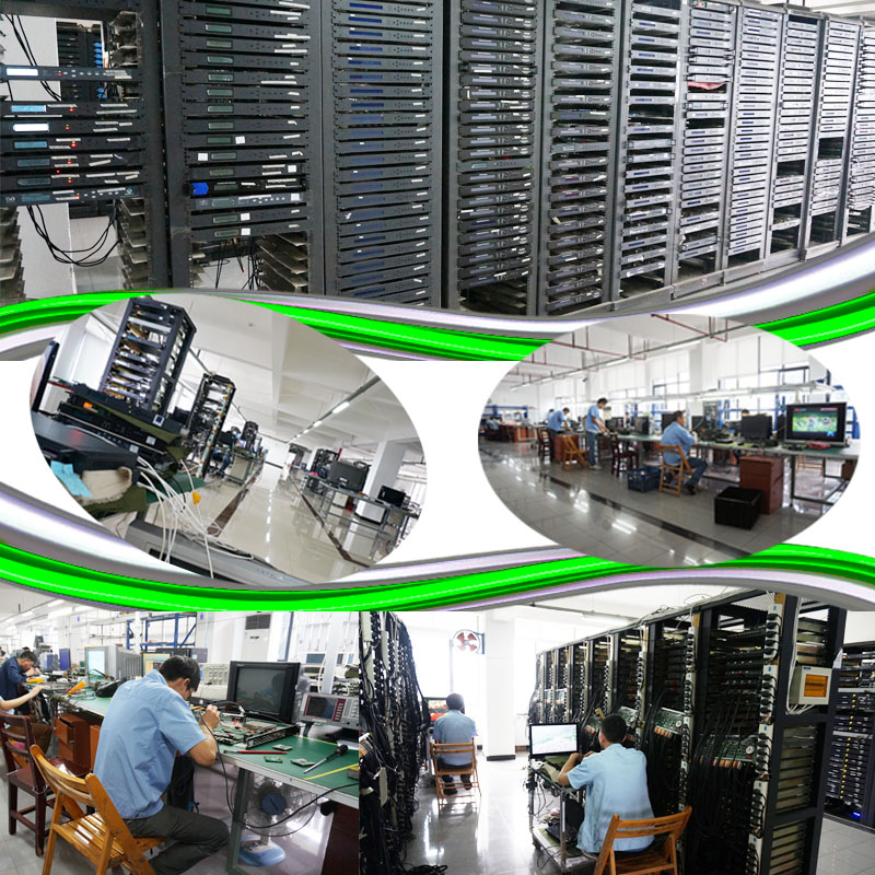 CATV Digital Headend Production and Test Line