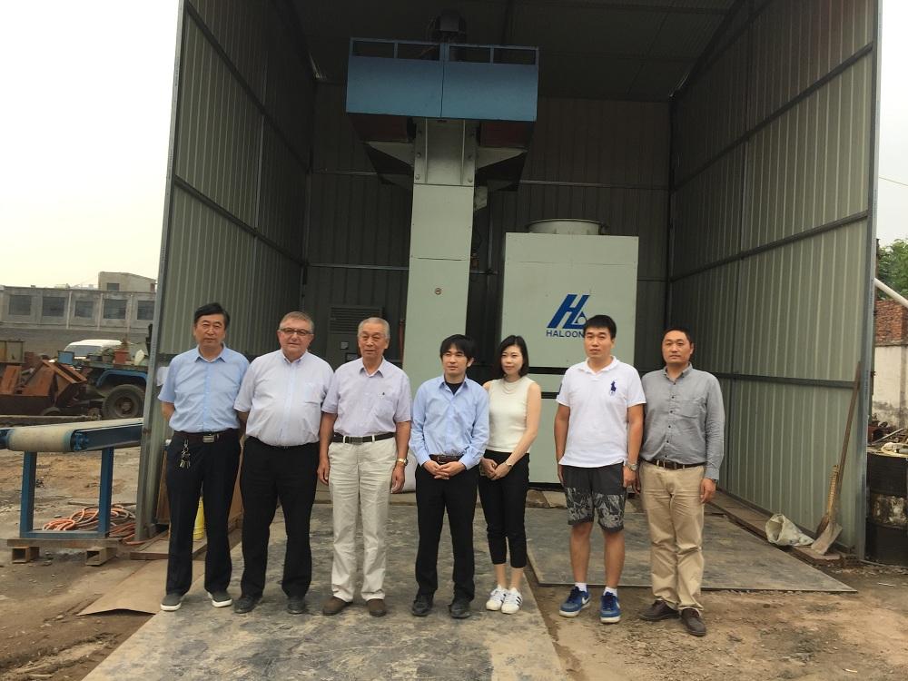 electric screw press export Vietnam