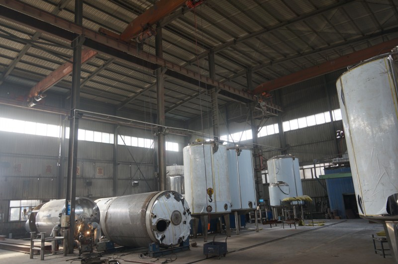 Big Equipment fabricate workshop