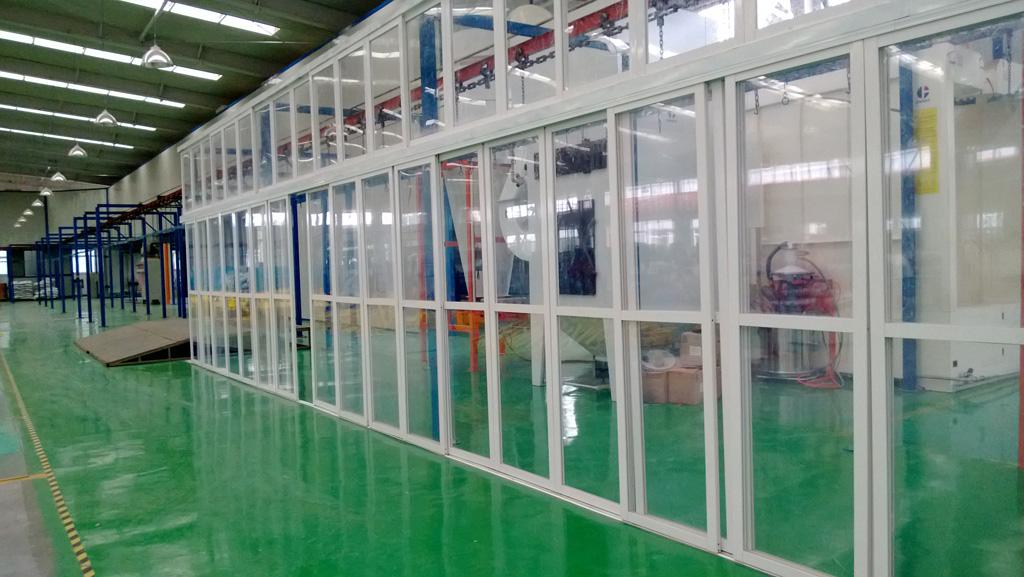 Main Production Process - Powder Coating