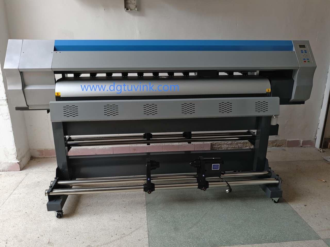 1.8m Inkjet Eco Solvent Printer for Banner, Poster, Flex film,