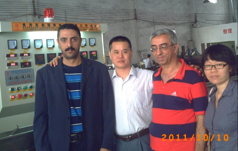 Iraq Comunication Cable Extrusion Line