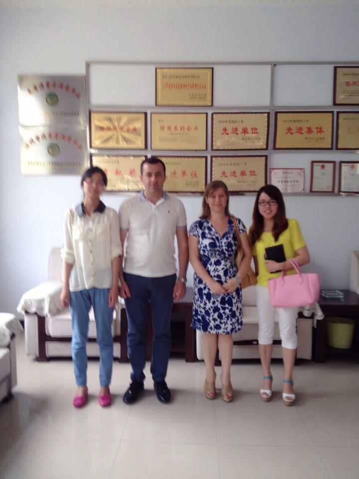 customer vist the factory