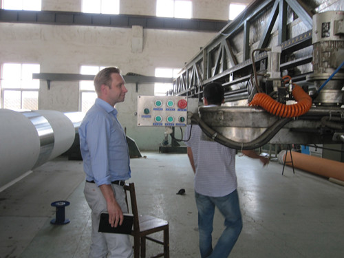 Customers Visiting(Paper mills)