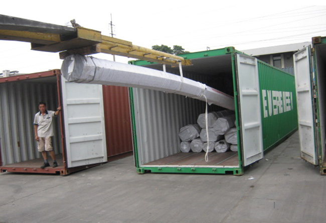 Container loading 2