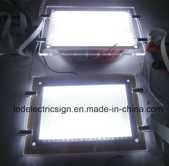double side led crystal led light box