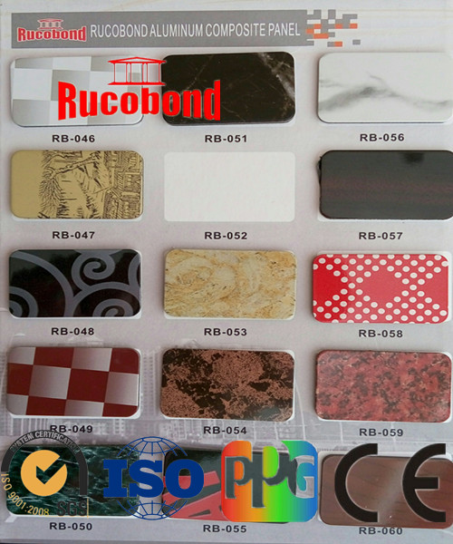 pecific color Chart
