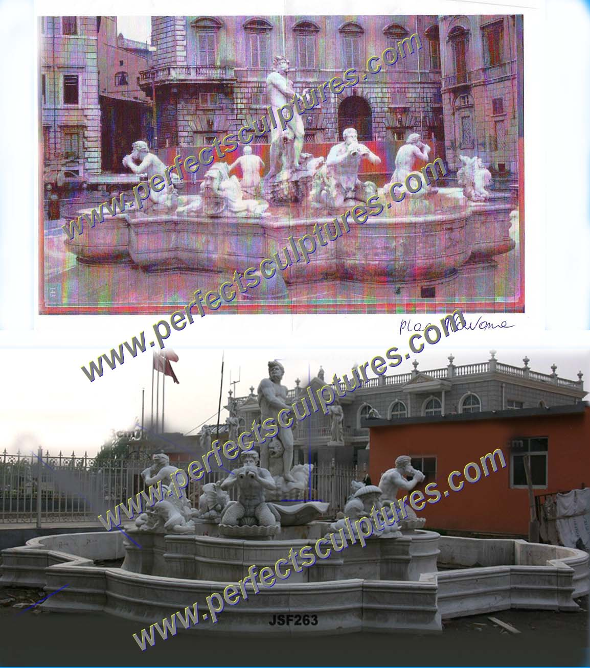 Project of Large Fountain in USA