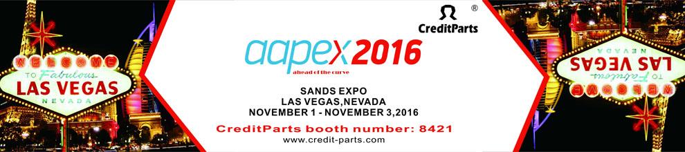 AAPEX show Las Vegas in Nov.1-3,2016