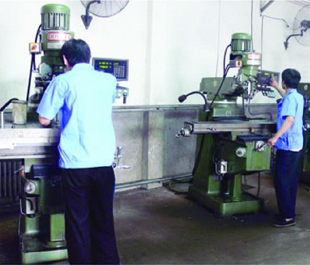 Digital milling machine