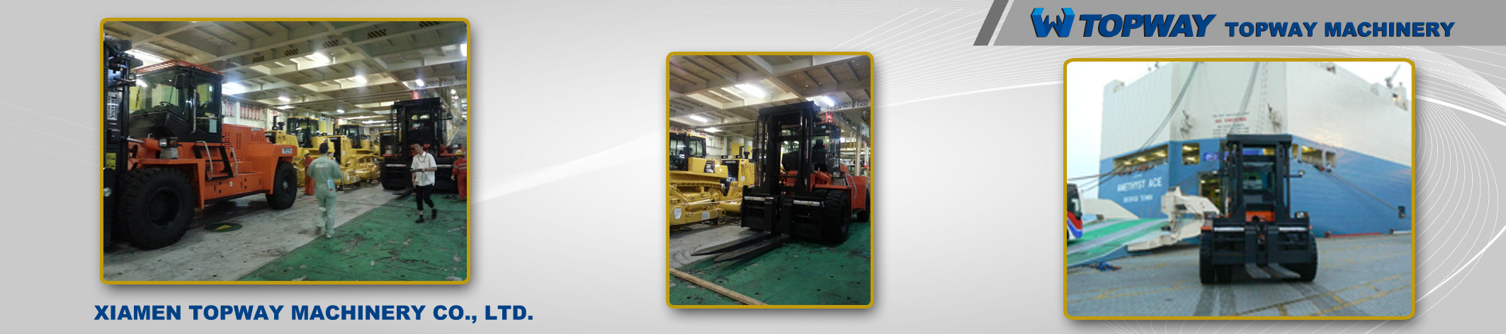 20Ton Diesel Forklift export to PNG