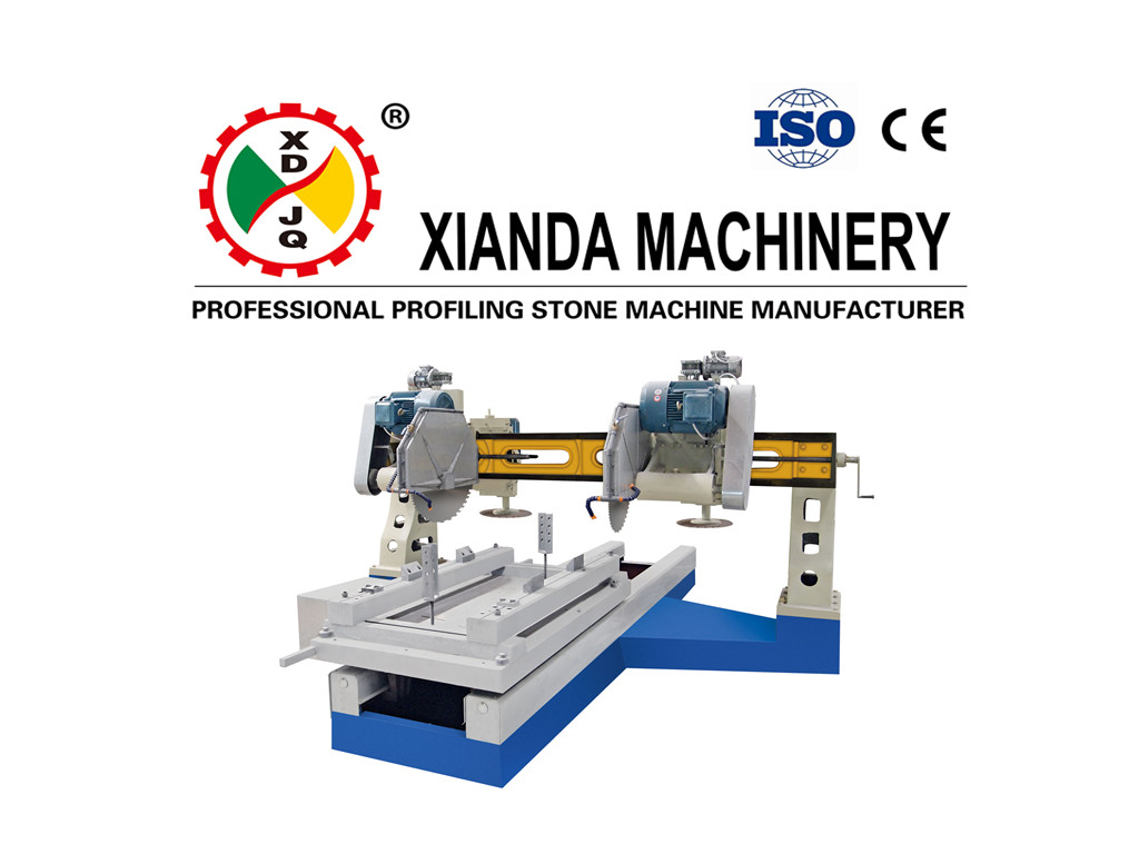 HKB-41500 Four-blade Edge Cutting Machine For Column Slab