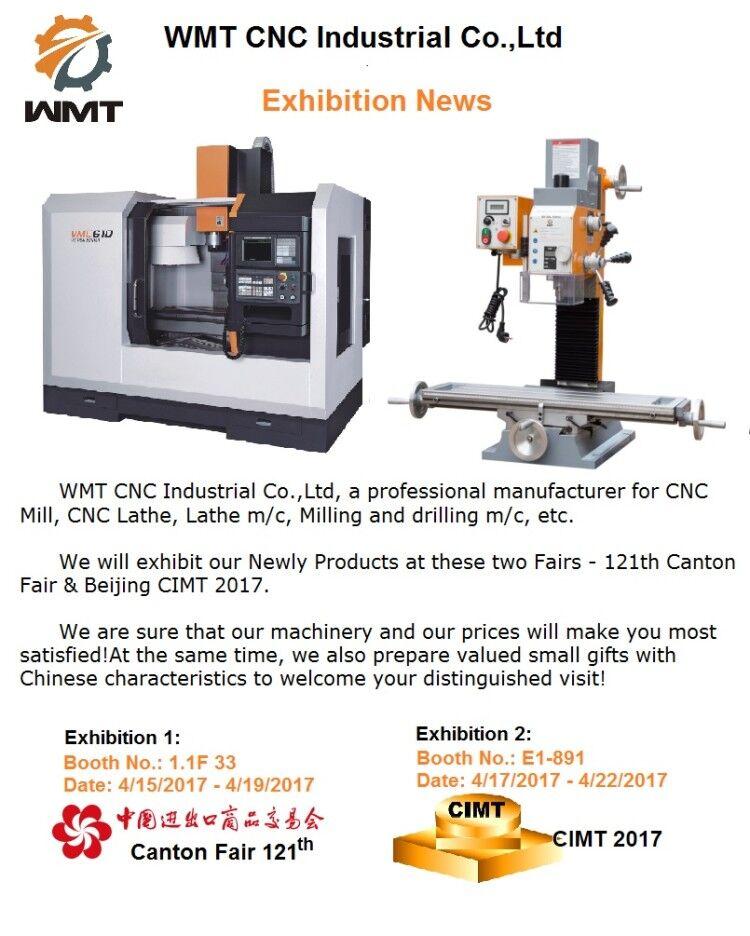 121st Canton Fair & Beijing CIMT 2017