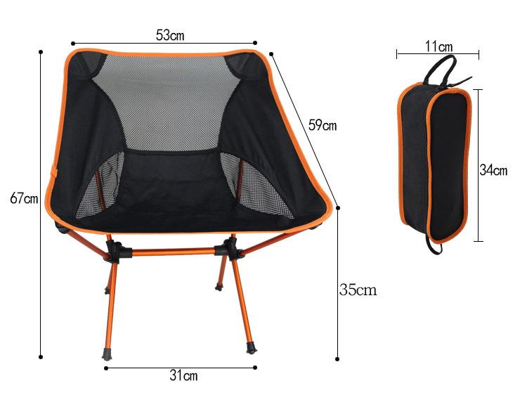 Portable Outdoor Folding Chair flexible chair