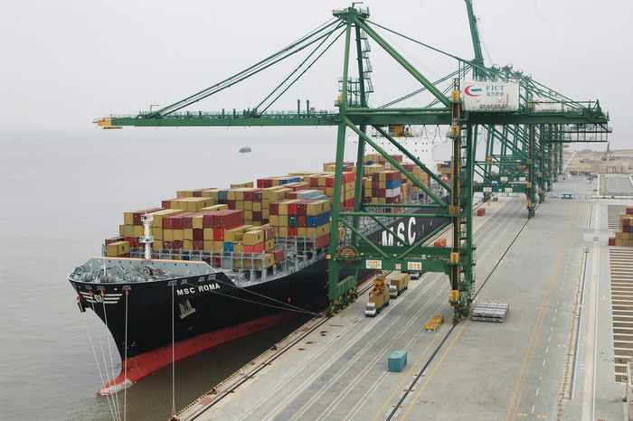 Shipping operation process - C (Sea freight - unloading)