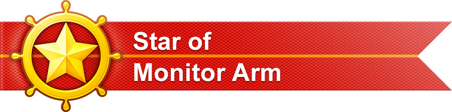 We are Outstanding Partner of Monitor Arm on Made-in-China.com