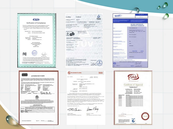 Certificates of Air Conditioning