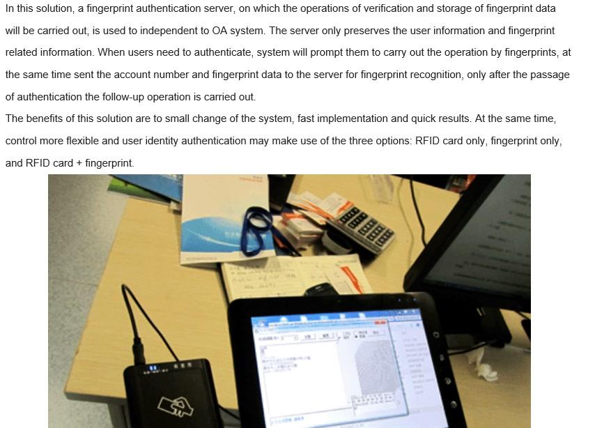 Fingerprint reader-2
