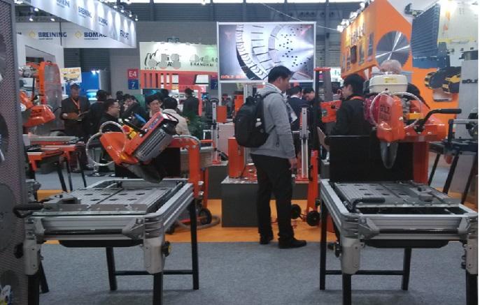 Attend 2015 Shanghai Bauma Fair