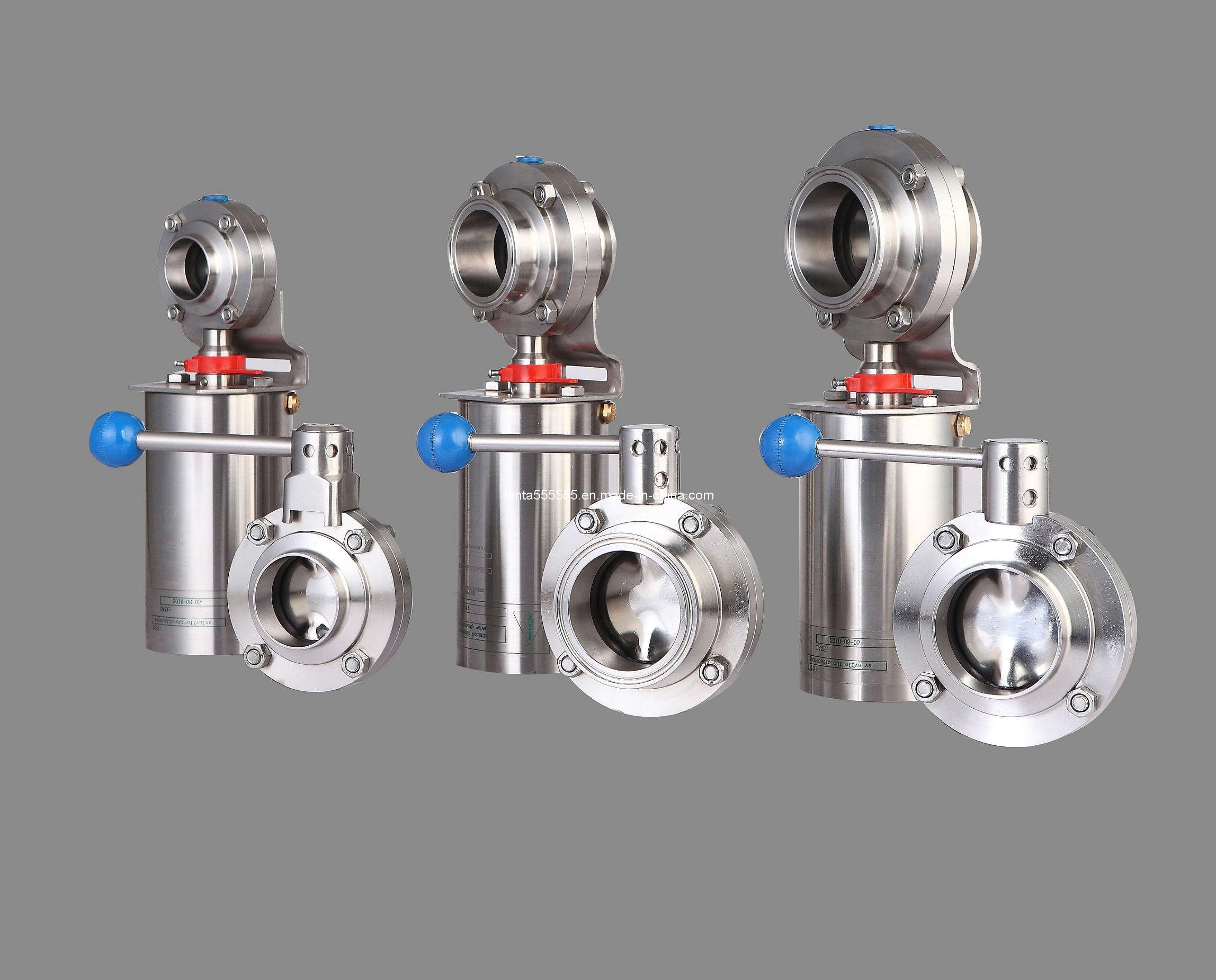 SMS Stainless Steel Butterfly Valve