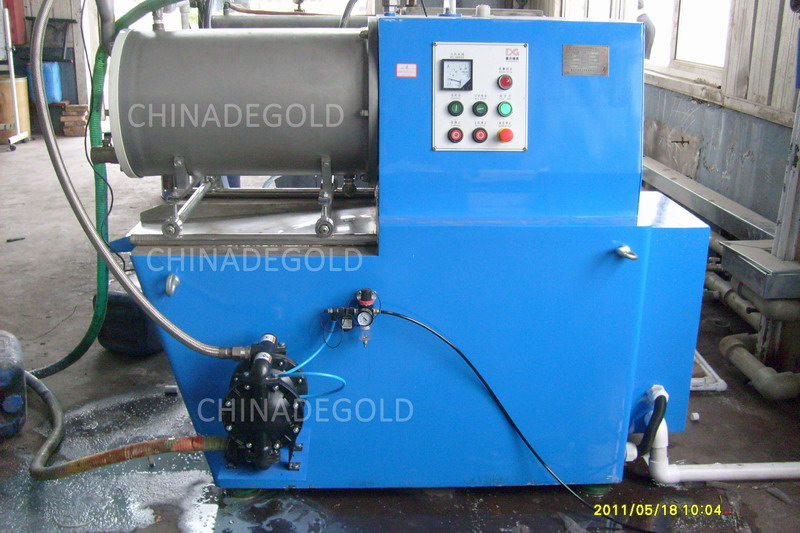 50 Liters Degold ZM Horizontal Bead Mill